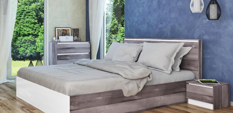 Красива и перфектно организирана спалня с мебели от Арена